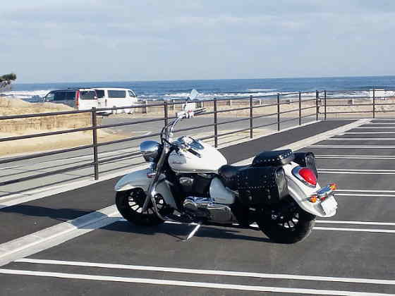 彼氏のバイク