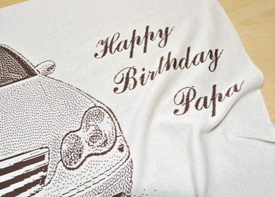 誕生日プレゼントに愛車グッズを