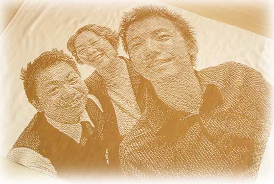 家族の写真で作るオリジナルプレゼント