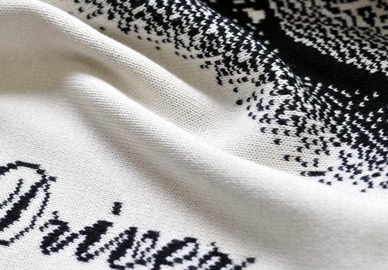 編物でデザイン