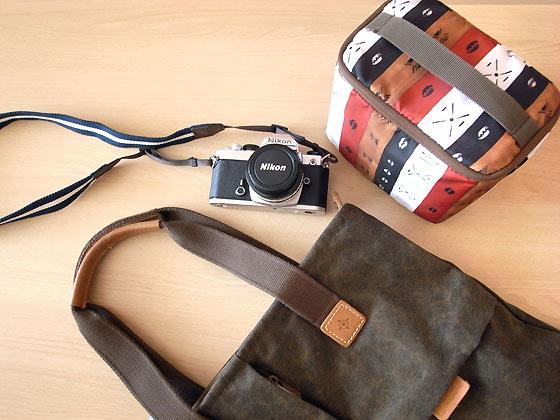 カメラトートバッグ